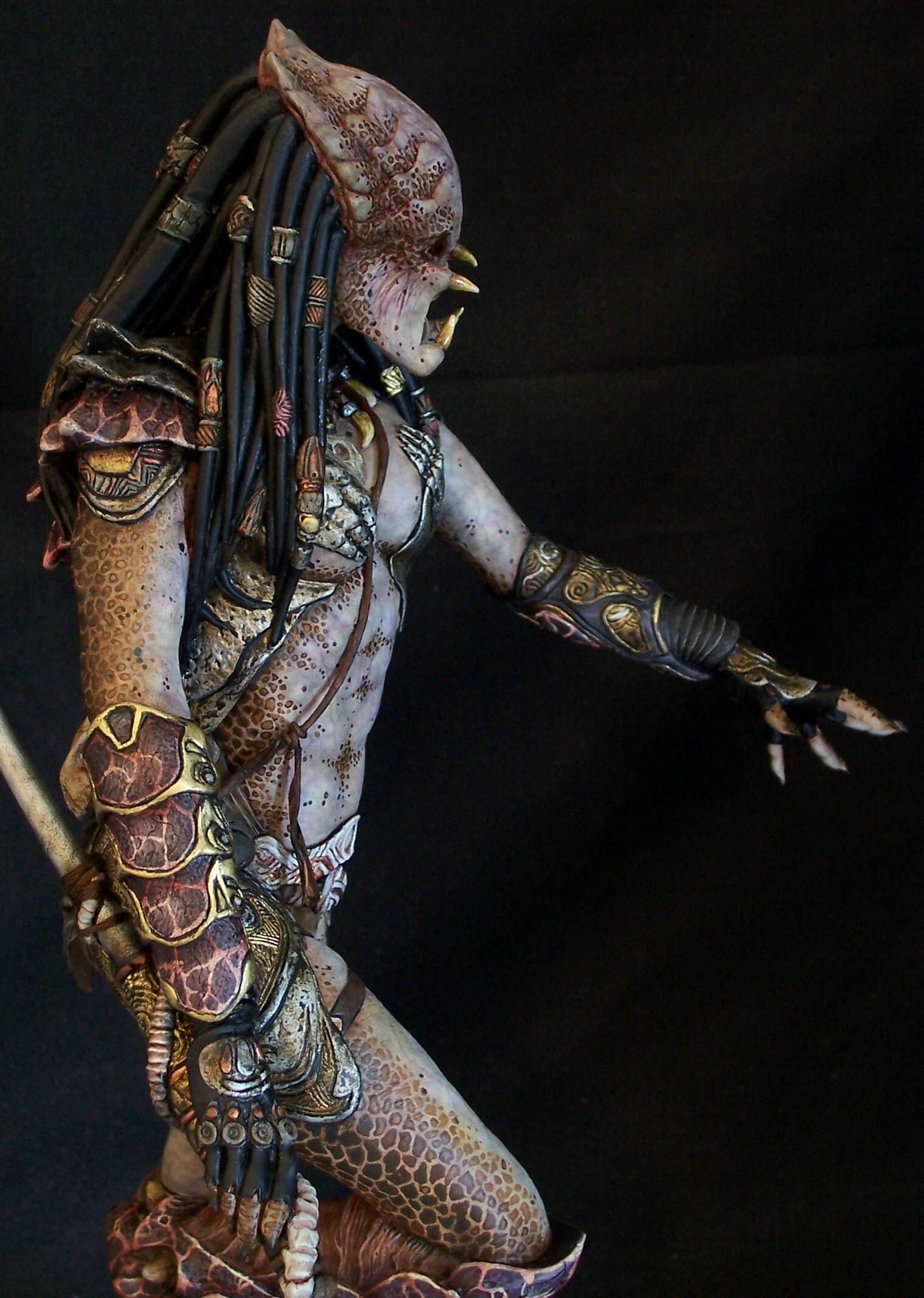 Joe Dunaway Model Kit Buildups 187 Female Predator With