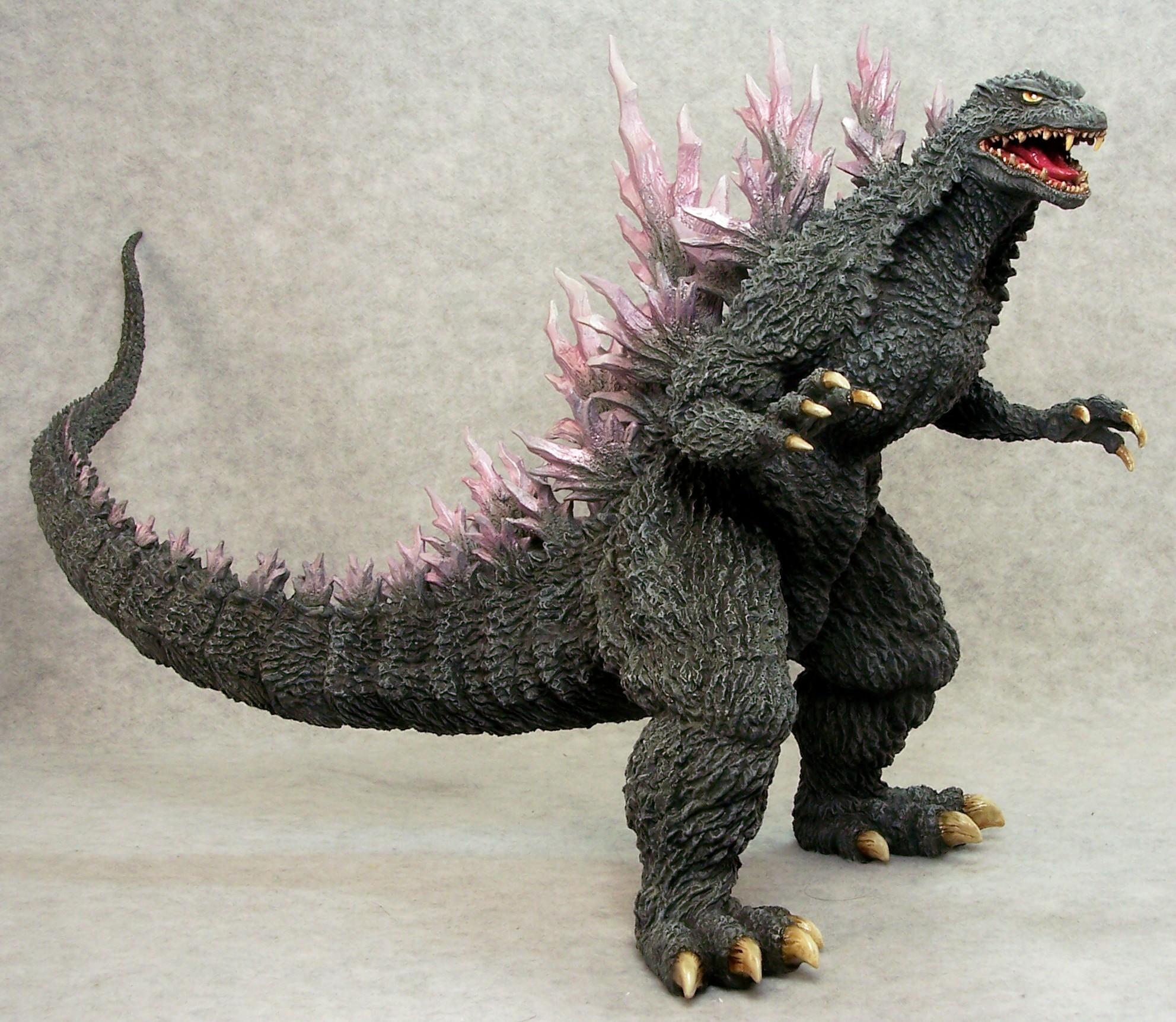 Joe Dunaway Model Kit Buildups 187 Godzilla 2000 187 Godz1 Jpg