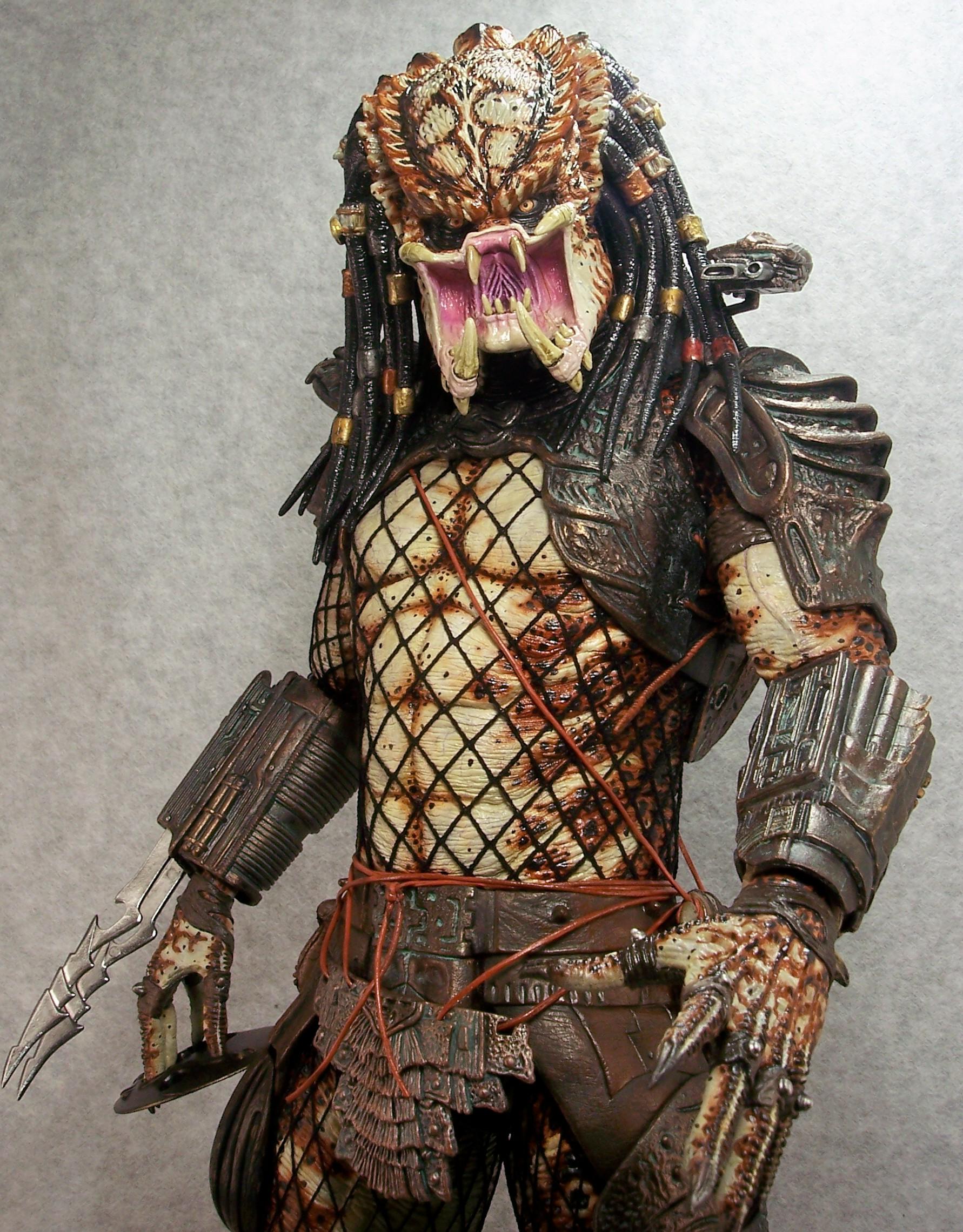 Joe Dunaway Model Kit Buildups 187 Neca 1 4 Scale Predator