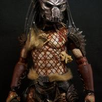 "Shadow Predator with custom ""beast\"" bio helmet."
