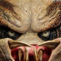 Predator head -Lifesize