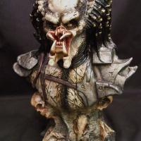 Sandy Predator Bust Repaint
