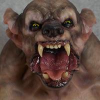 Werewolf bust